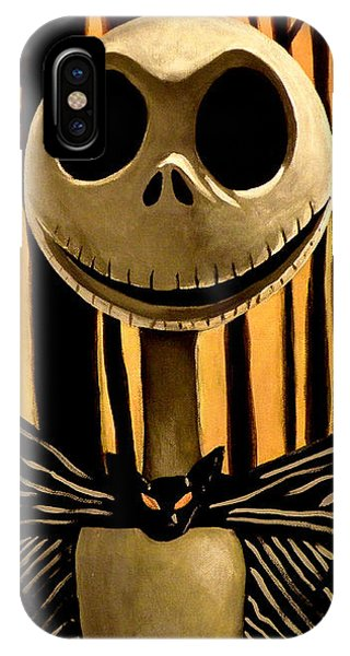 Jack Skelington IPhone Case