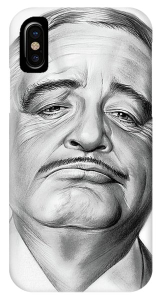 Visual iPhone Case - Jackie Gleason by Greg Joens