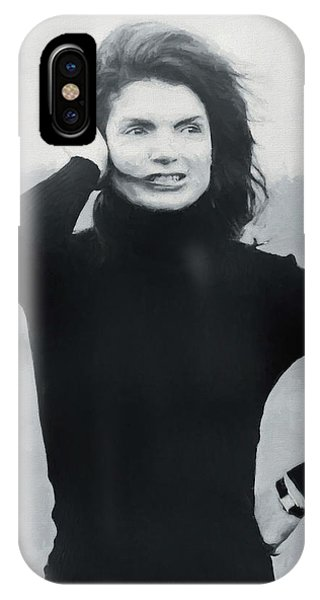 Jackie Kennedy - Painting IPhone Case