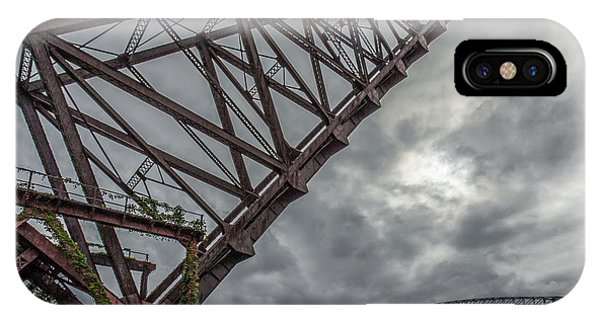 Jackknife Bridge To The Clouds IPhone Case