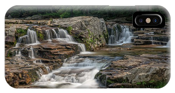 IPhone Case featuring the photograph Jackson Falls by Cindy Lark Hartman