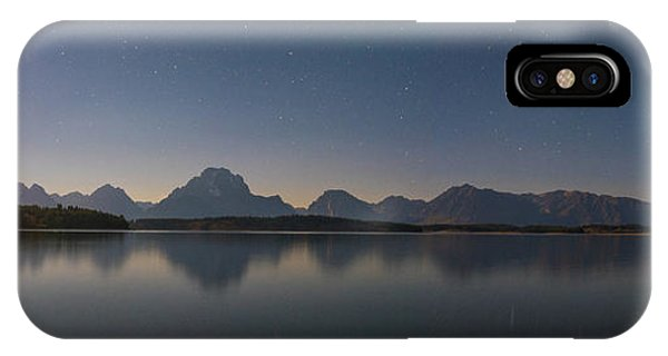 Jackson Lake Moon IPhone Case