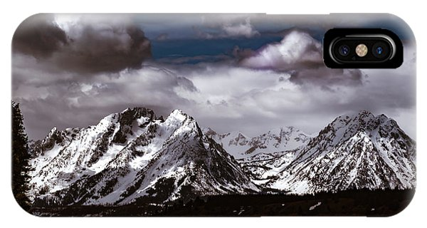 Jackson Lake Peaks IPhone Case