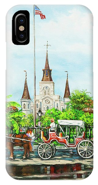 Jackson Square Carriage IPhone Case