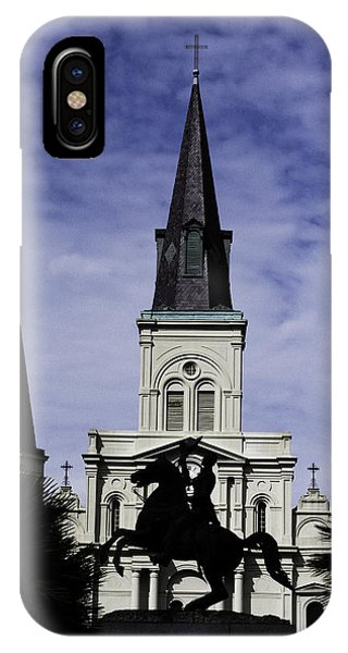 Jackson Square - Color IPhone Case