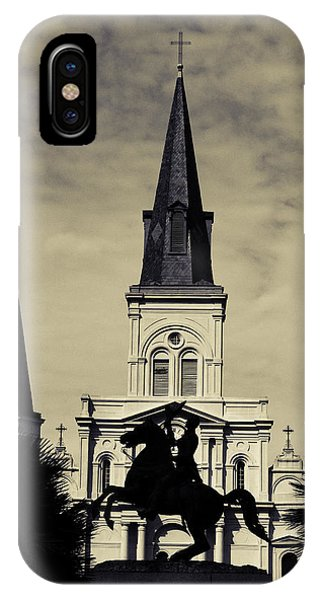 Jackson Square - Split Tone IPhone Case