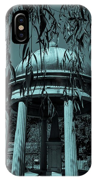 IPhone Case featuring the photograph Jackson Tomb by James L Bartlett