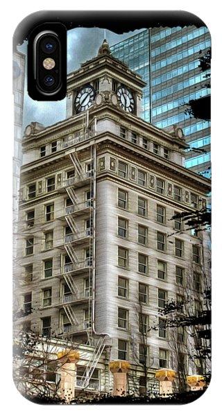 Jackson Tower Portland Oregon IPhone Case