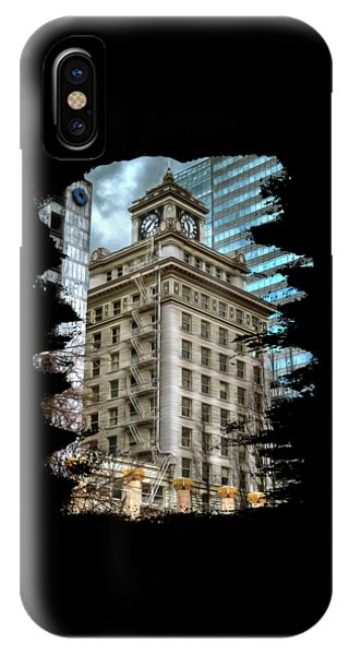 Jackson Tower Portland Oregon IPhone Case
