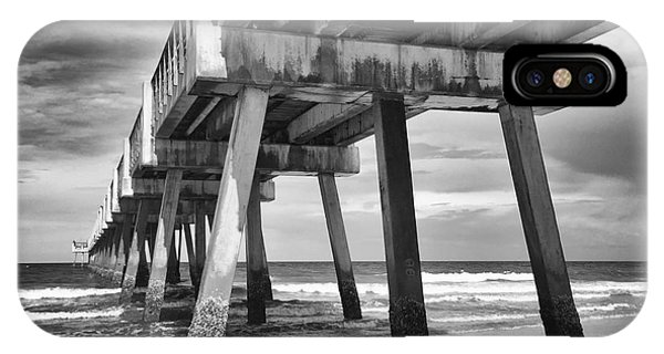 Jacksonville Beach Florida Usa Pier IPhone Case
