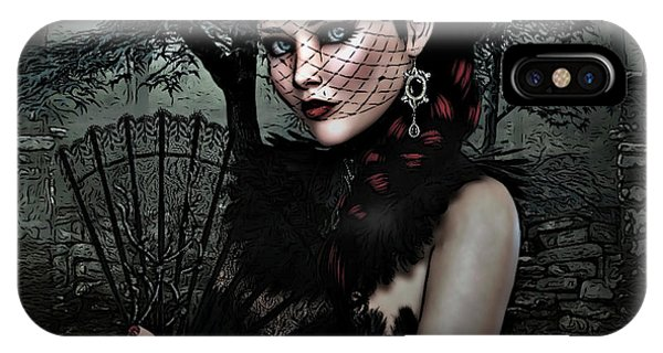 Gothic iPhone Case - Jacquelyn 002 by G Berry