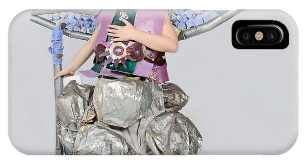 Jaeda In Techno Fairy IPhone Case