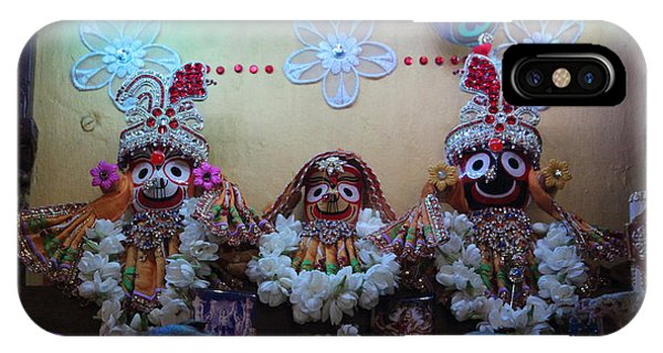 Jagannath, Baladev And Subhadra At Govinda's, Mumbai IPhone Case