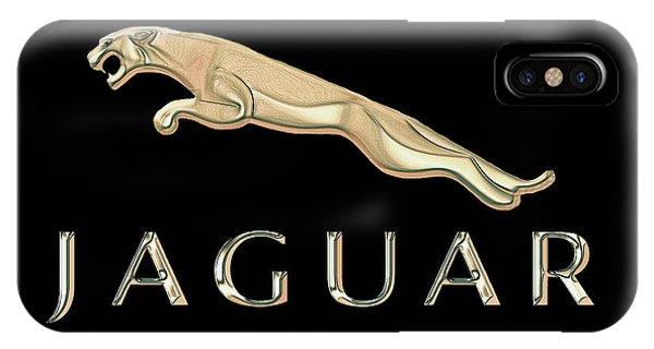 Jaguar Car Emblem Design IPhone Case