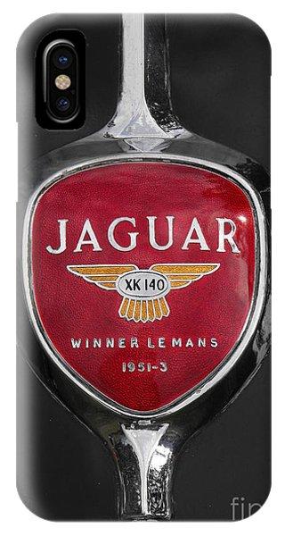 Jaguar Medallion IPhone Case
