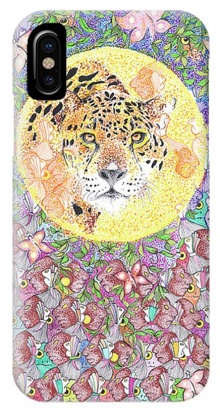 Jaguar Night IPhone Case