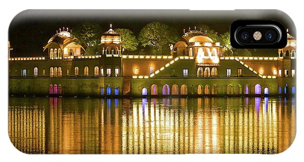 Jal Palace At Night IPhone Case