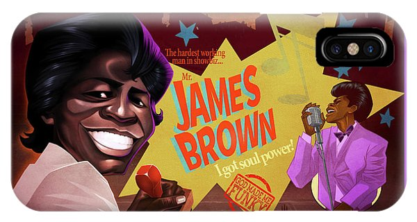 James Brown IPhone Case