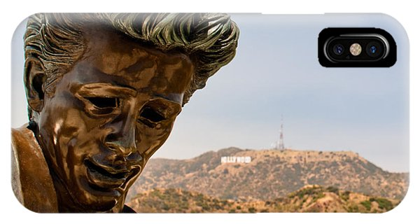 James Dean - Griffith Observatory IPhone Case