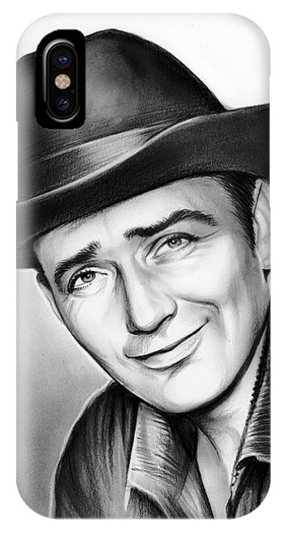 James iPhone Case - James Drury by Greg Joens