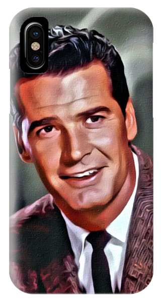 Rockford iPhone Case - James Garner, Hollywood Legend, Digital Art By Mary Bassett by Mary Bassett