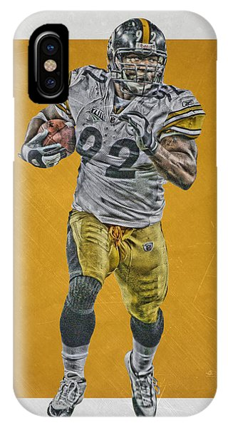 Harrison iPhone Case - James Harrison Pittsburgh Steelers Art by Joe Hamilton