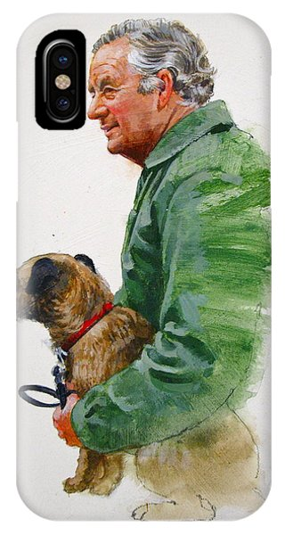 James Herriot And Bodie IPhone Case