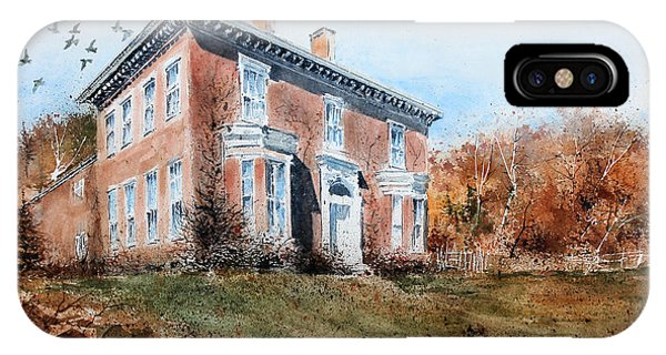 James Mcleaster House IPhone Case