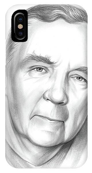Wizard iPhone X / XS Case - James Patterson by Greg Joens