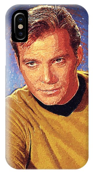 James T. Kirk IPhone Case
