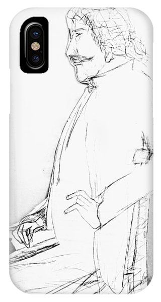 James Whistler's Portrait IPhone Case