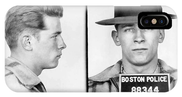 James Whitey Bulger Booking Photo 1953 IPhone Case