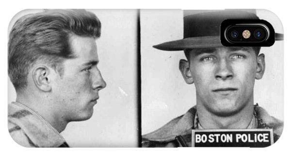 James Whitey Bulger Mug Shot 1953 Horizontal IPhone Case