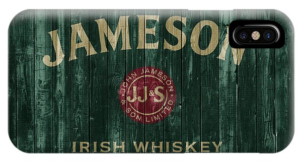 Jameson Irish Whiskey Barn Door IPhone Case