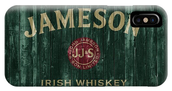 Bar iPhone Case - Jameson Irish Whiskey Barn Door by Dan Sproul