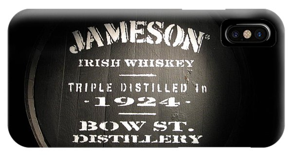 Irish iPhone Case - Jameson by Kelly Mezzapelle
