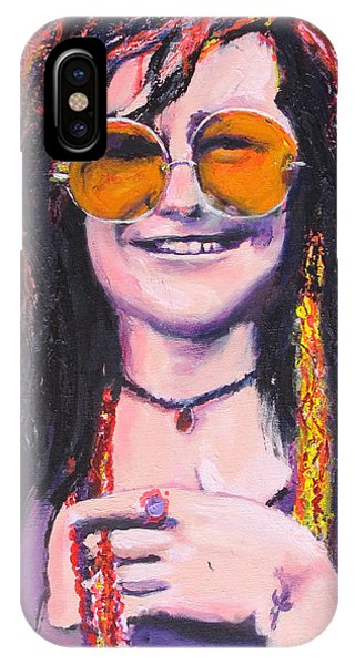 Janis Joplin 2 IPhone Case