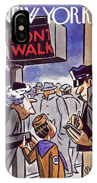 New Yorker January 24 1959 IPhone Case
