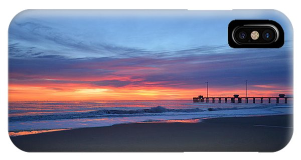 IPhone Case featuring the photograph January 8, 2018 by Barbara Ann Bell