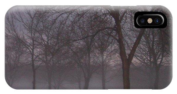 January Fog 4 IPhone Case