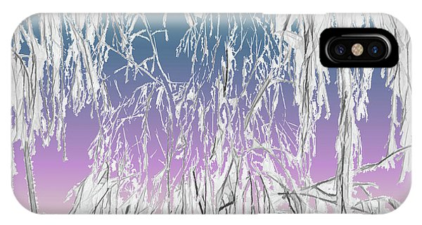 January Hoarfrost IPhone Case