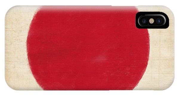 Patriotic iPhone Case - Japan Flag by Setsiri Silapasuwanchai