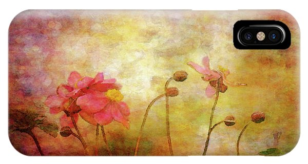 Japanese Anemone Landscape 3959 Idp_2 IPhone Case