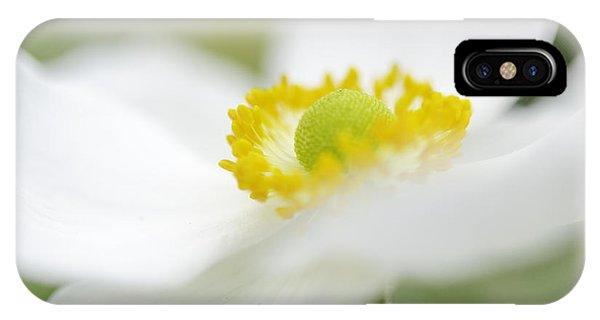 Japanese Anemone IPhone Case