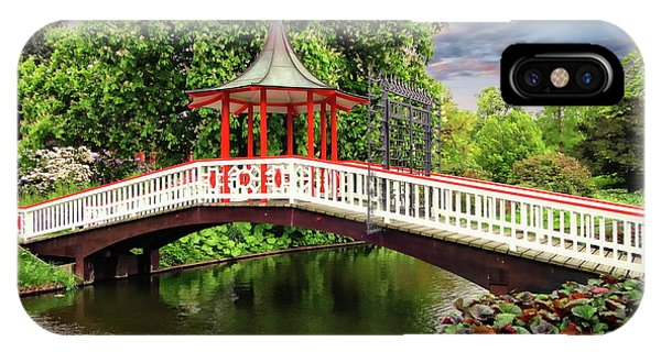 Japanese Bridge Garden IPhone Case