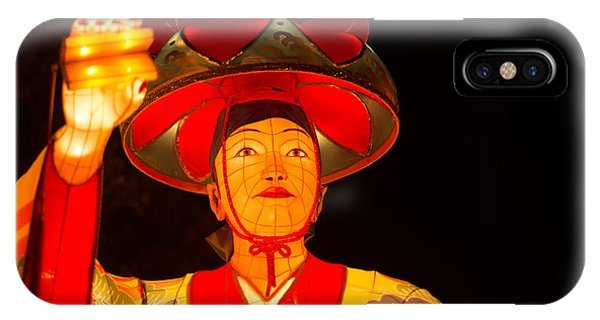 Japanese Dancer Lantern 2 IPhone Case