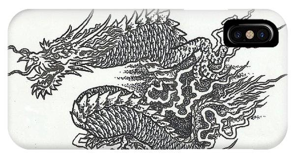 iPhone Case - Japanese Dragon by Jacki Randall