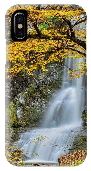 Japanese Falls IPhone Case