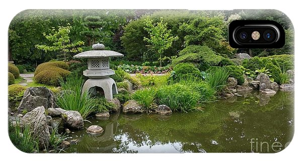 Japanese Garden -2. IPhone Case