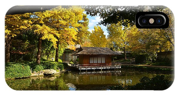IPhone Case featuring the photograph Japanese Gardens 2541a by Ricardo J Ruiz de Porras